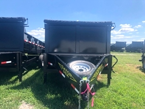 Dump Trailer 14ft By Gator Dump Trailer 14ft By Gator. Bumper pull dump