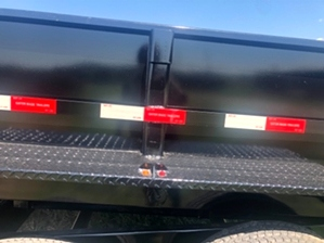 Gooseneck Dump Heavy Duty Trailer For Sale