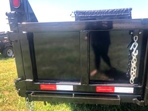 Dump Trailer Gooseneck 16ft 14k