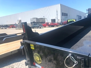 Dump Trailer 14k 14000 For Sale