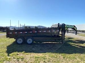 Dump Trailer 16ft 14000 pounds