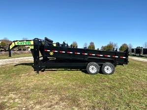 Dump Trailer 14ft 14k Gooseneck By Gator